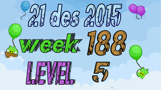 Angry Birds Friends Tournament level 5 Week 188