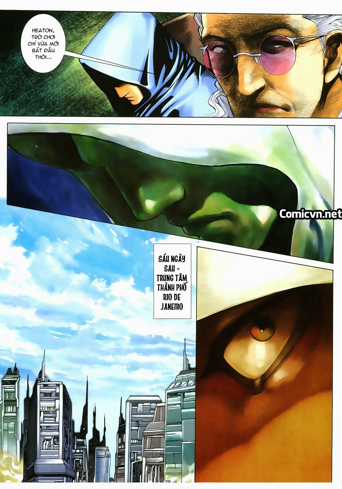 Tuyệt Địa Thiên Hành chap 8 Trang 27 - Mangak.info