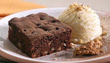 Brownie caseiro