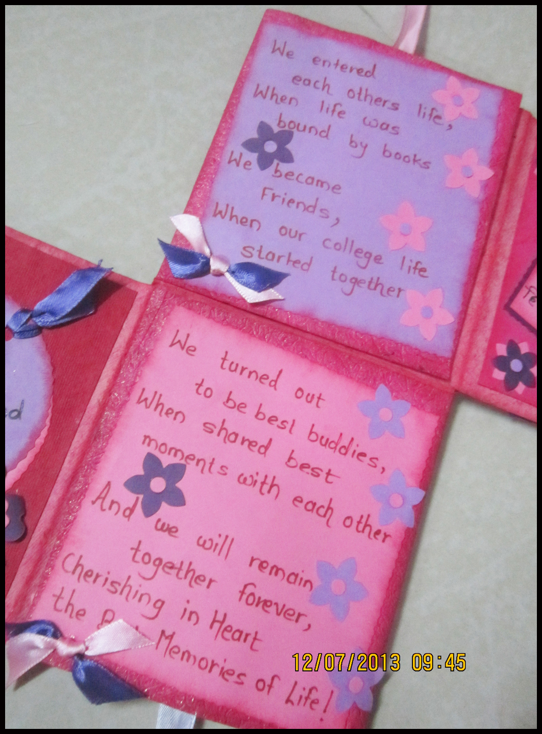 Linas Handmade Cards July 2013 – Creative Birthday Card Messages