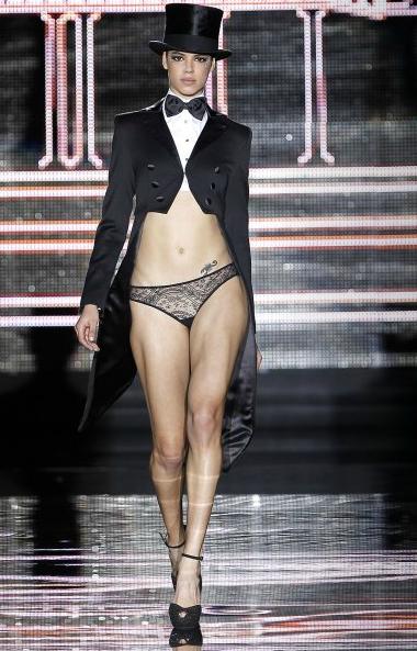 tuxedo lingerie