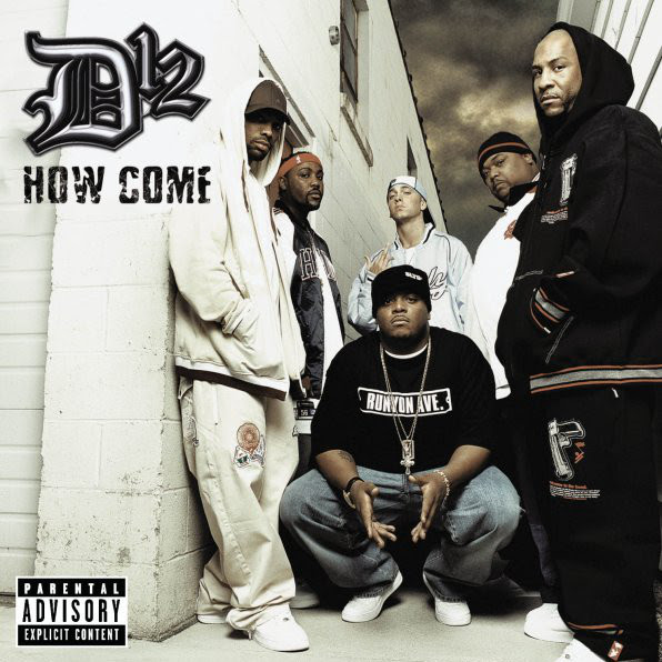 D12 - How Come - Single Cover