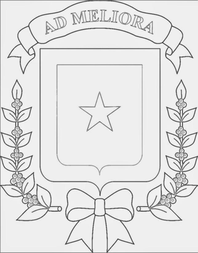 Lujo Página Para Colorear Escudo En Blanco Imágenes - Dibujos Para ...