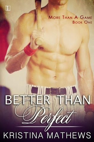 Cover to Better Than Perfect by Kristina Mathews