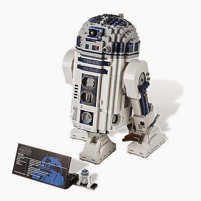 R2D2 de LEGO
