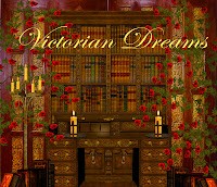 Victorian Dreams digital fantasy backgrounds