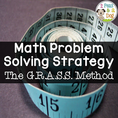 Students often need support with solving word problems in math class. Use the GRASS method to help them solve their math questions completely and with detail.