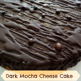 Dark Mocha Cheesecake:  A dark chocolate cheesecake with coffee flavor.