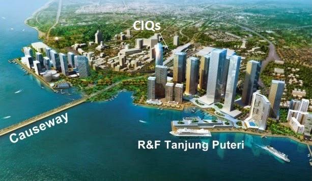 R&F Princess Cove, 富力地产, Iskandar Tanjung Puteri CIQs