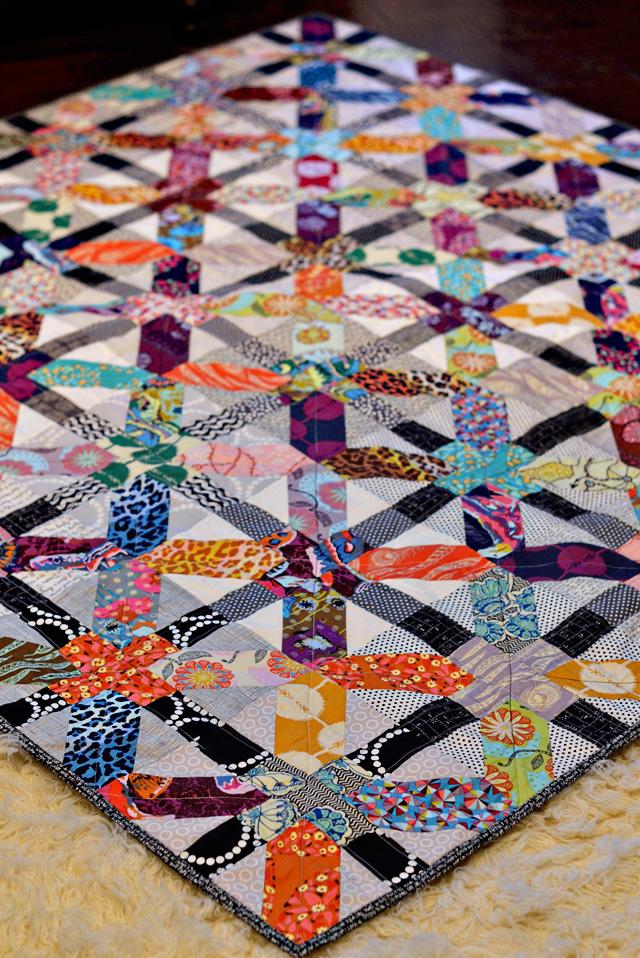 Quilt Patternxblock : Bijou Lovely:xplus quilt.