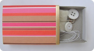 Decorated match box