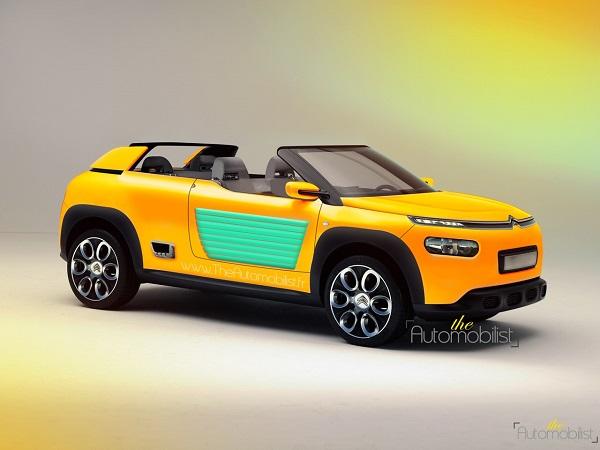 Citroën Cactus Méhari recreación