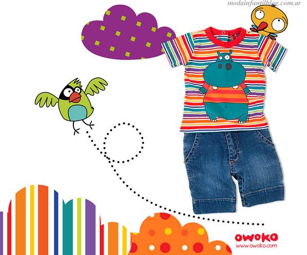 ropa para niños verano 2014