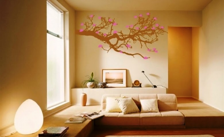 Wall painting ideas for your home for Home painting design ideas