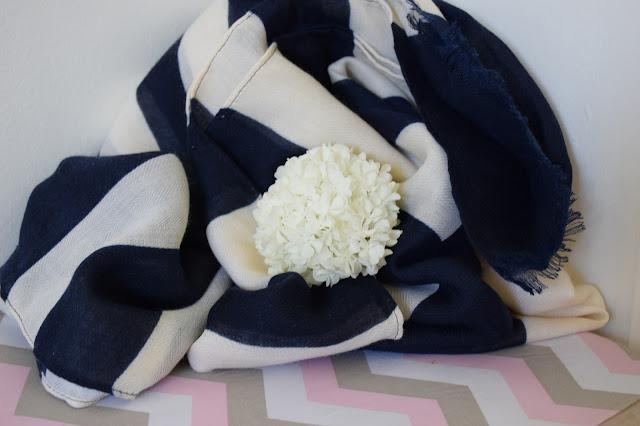 Foulard Bleu Parfois