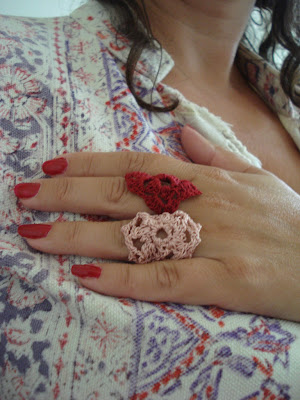 Crocheted Jewelry Patterns and Necklace Patterns