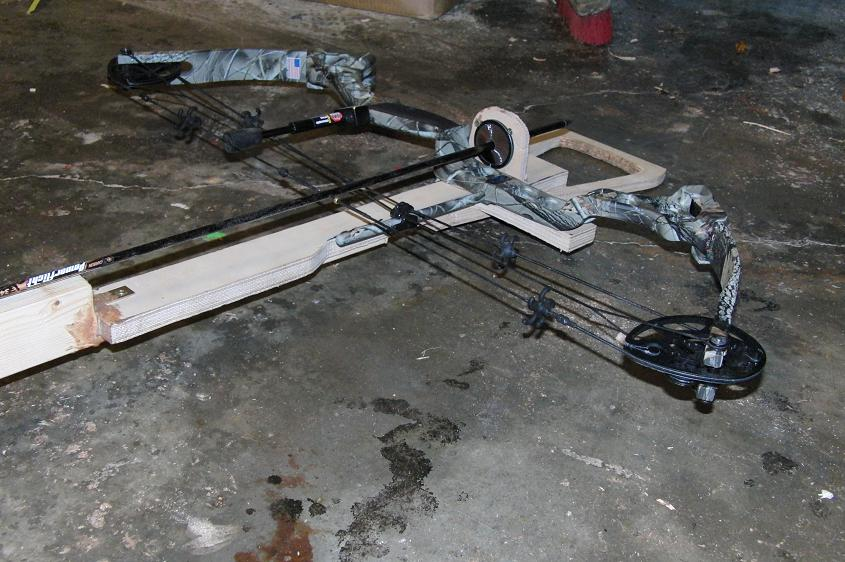 Project: Making a crossbow from an old compound bow