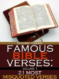 Famous Bible Verses: 21 Most Misquoted Verses