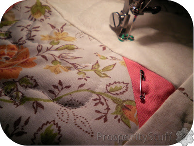 ProsperityStuff Detail of Free-Motion Quilting with Darning Foot