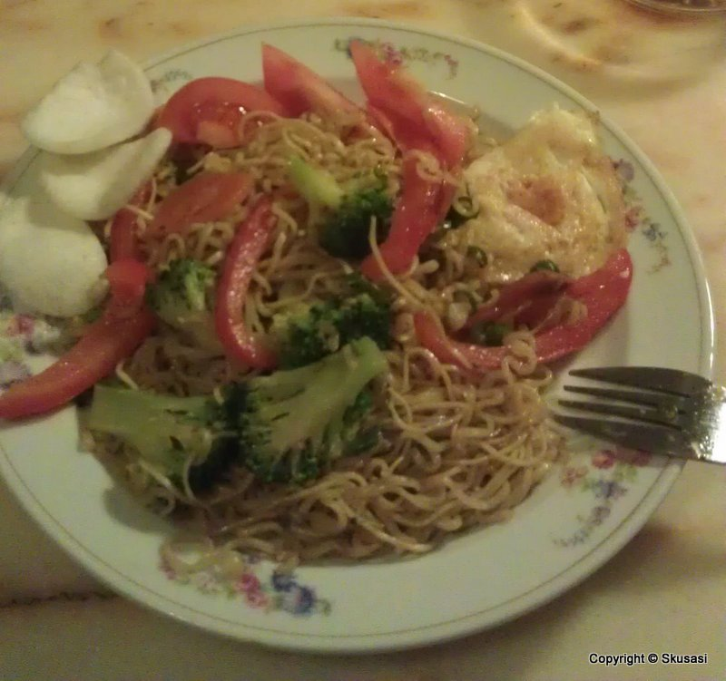Welcome to SKusasi's blog: Mie goreng (Indonesian fried noodle)
