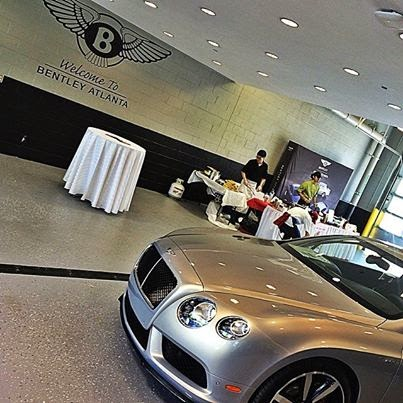 new car launches of 2014Bentley Atlanta celebrates the launch of The 2014 GT  GTC V8 S