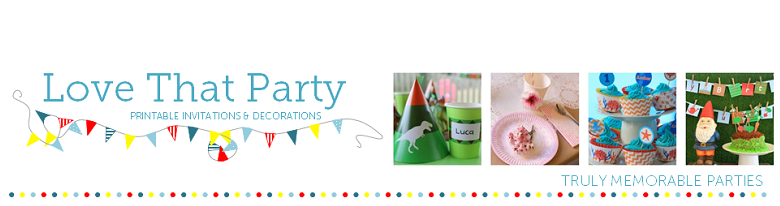 Love That Party - Birthday Invitations & Party Decorations