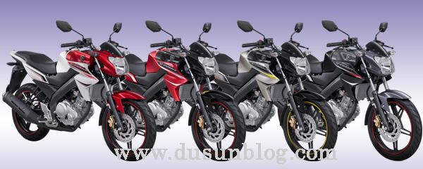 warna pilihan Yamaha New V-Ixion