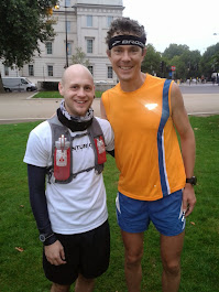 Just your average run...with Scott Jurek!