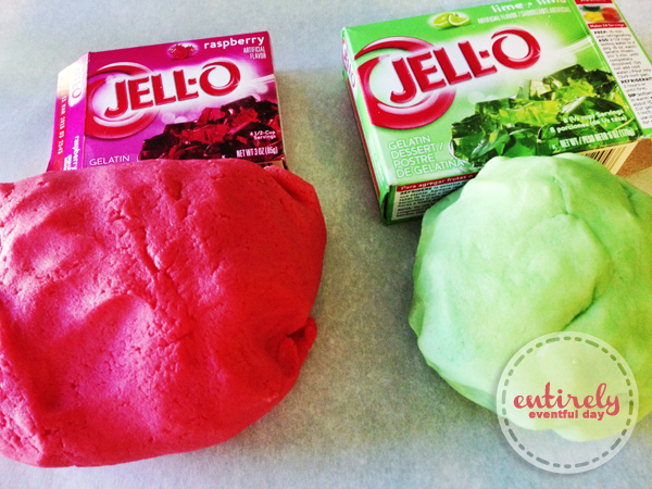Jello-flavored Watermelon Cookies! Kids love to help make them. Could they be any cuter? entirelyeventfulday.com #cookies #recipes