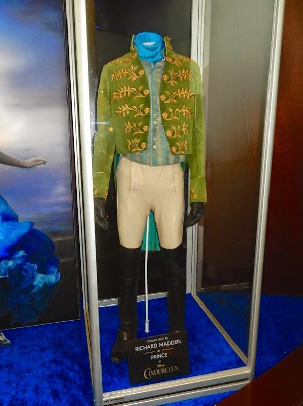Richard Madden Prince Charming Cinderella movie costume