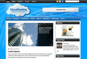CloudHosting Blogger Template