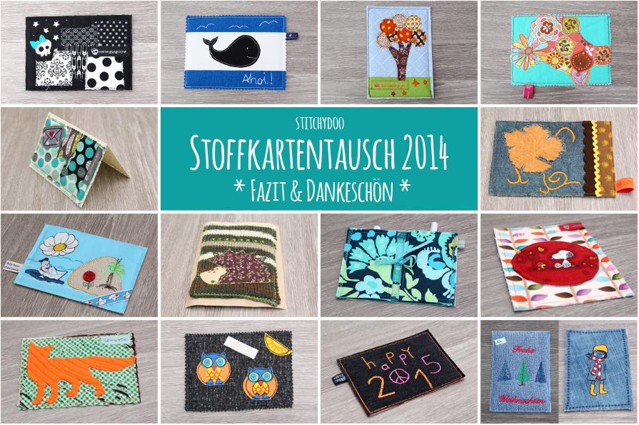 stitchydoo: Stoffkartentausch 2014 - Meine erhaltenen Karten