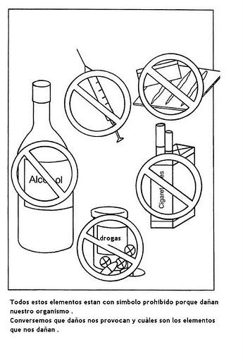 Dibujos Para La Prevencion De Drogas