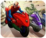 Người nhện đua xe, game dua xe