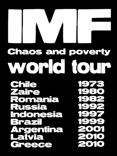 IMF Choas and Poverty World Tour