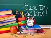 Soon the new school term starts here in the UK and it just so happens that . (back to school supplies isolated)