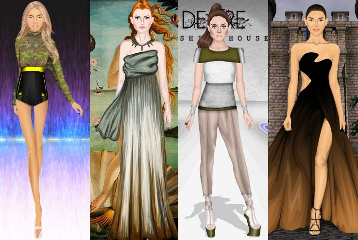 Rio earth tone dress stardoll fashion