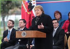 Bachelet y desaceleración: Es clave que Estado y privados nos pongamos ´´manos a la obra´´