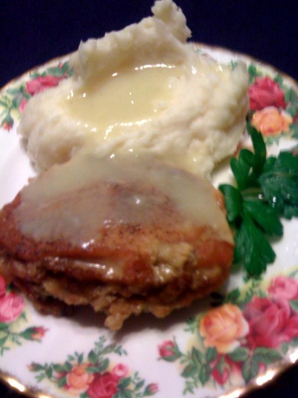 Sweet Tea and Cornbread: Stuffed Pork Chops!