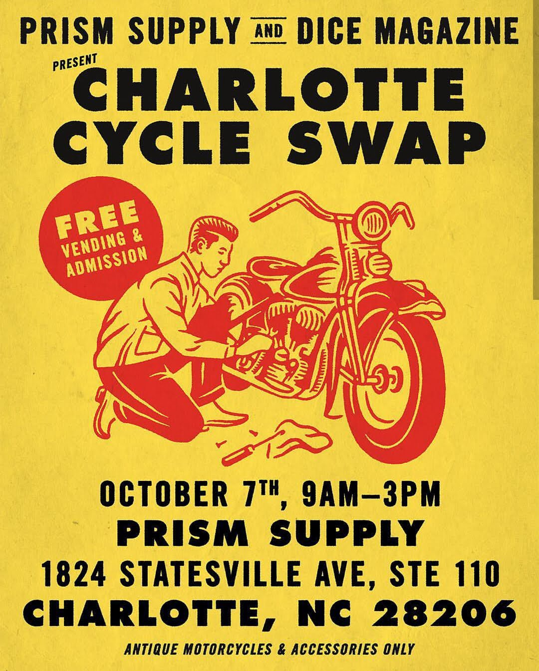 Charlotte Cycle Swap