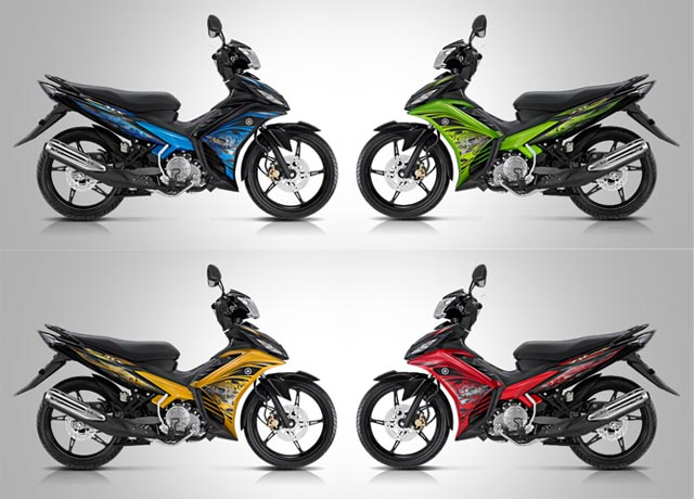 Modif New Jupiter Mx Warna Merah