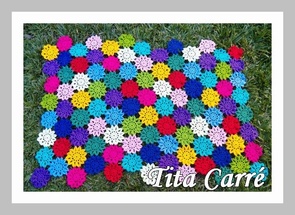 Colcha de Big flores Coloridas