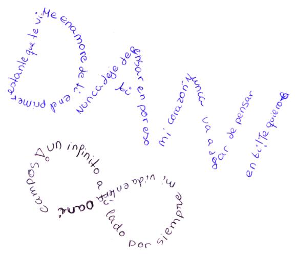 de 1º eso c d en el taller de caligrafía tuvisteis la ocasión
