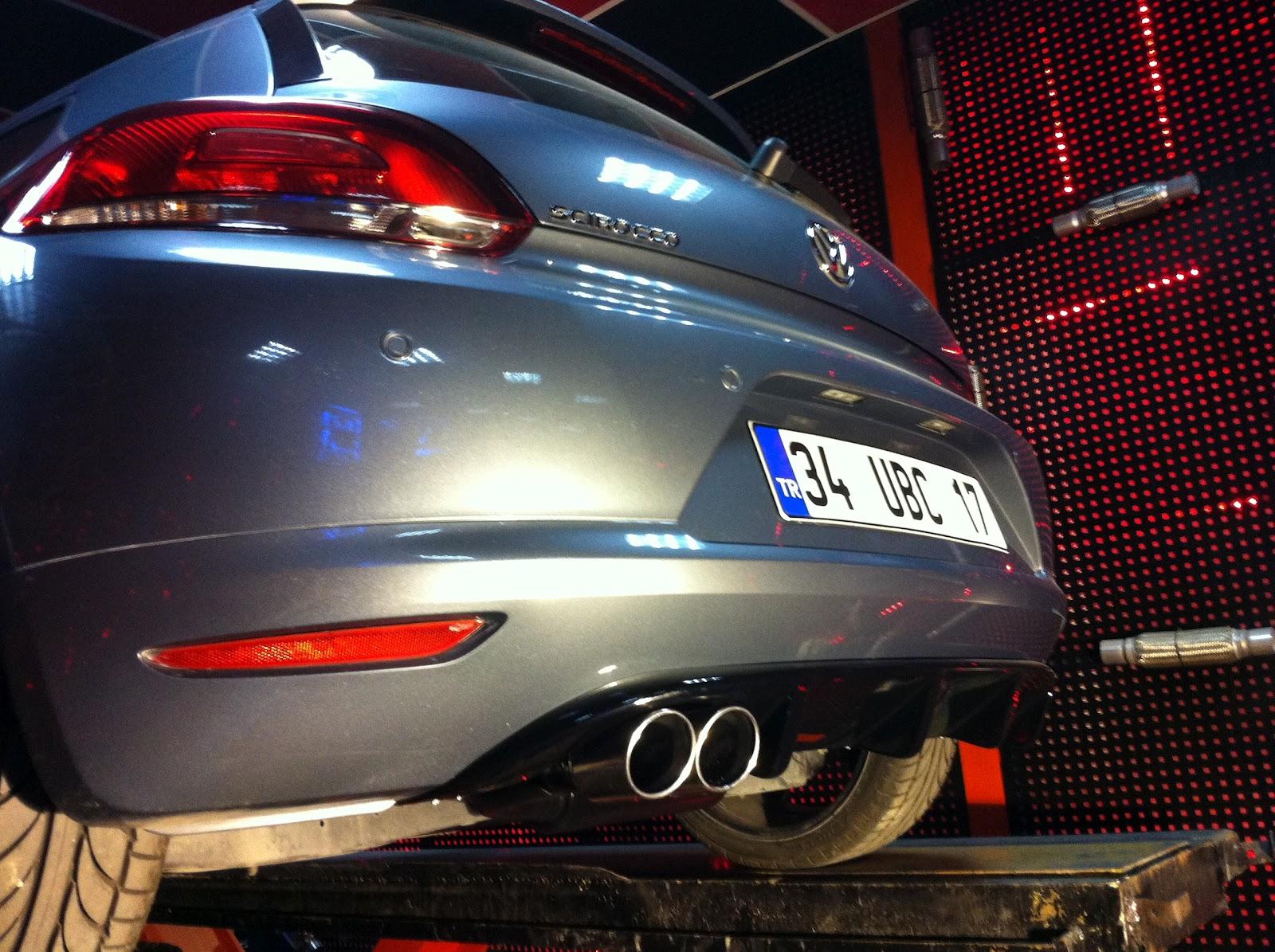 Volkswagen scirocco 1 4 tsi egzoz sesi esa garage for Garage volkswagen marennes 17
