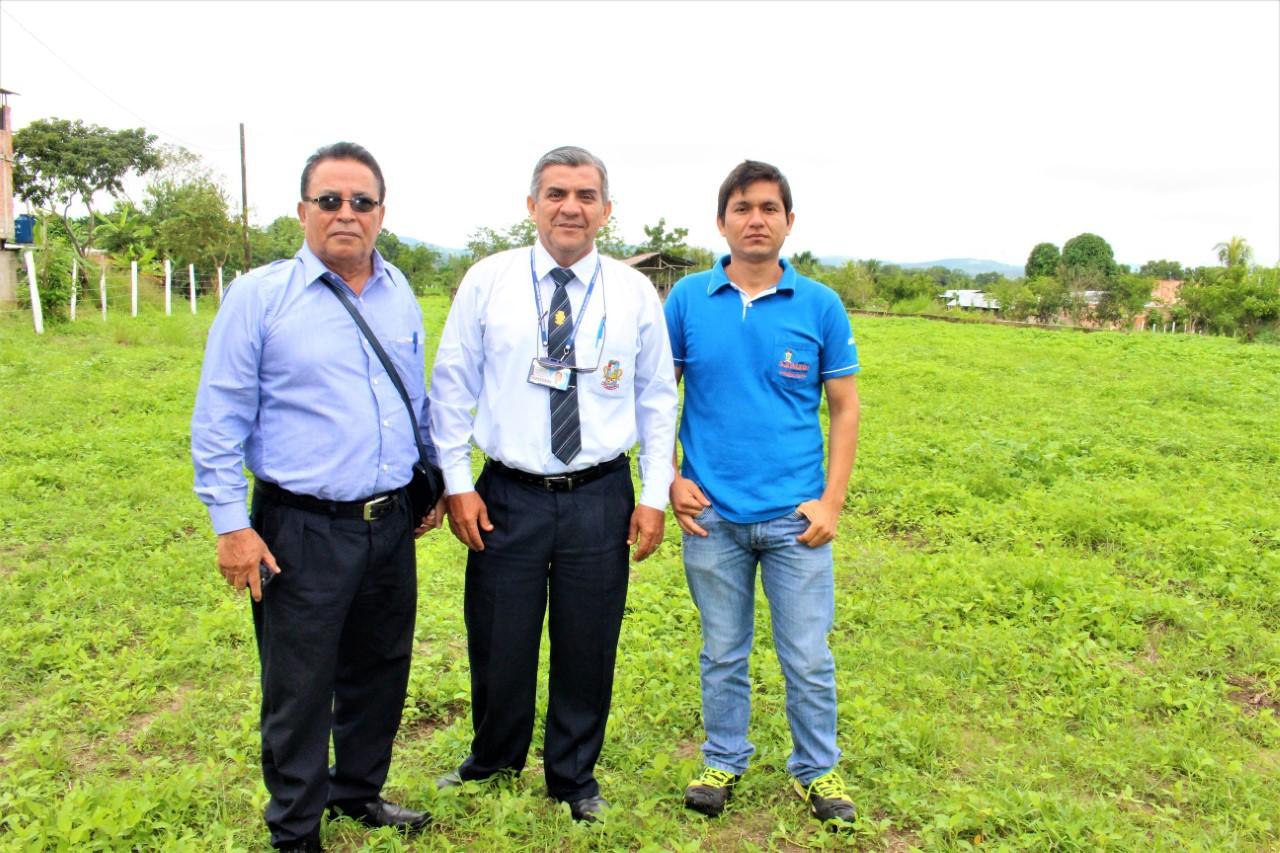 Proponen a ex Centro Cuarentenario para Campo Ferial Regional Representantes del COTEPAF-San Martín