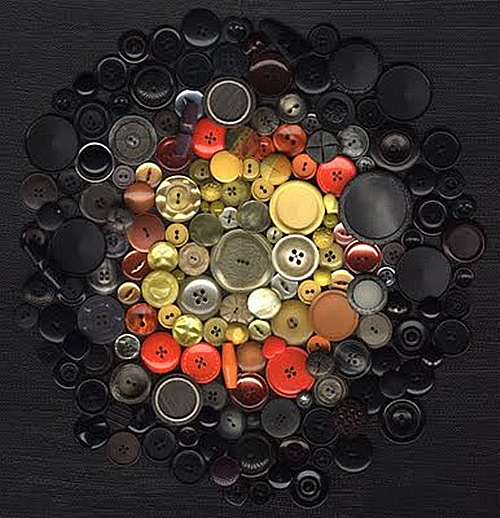 Creaci n artesanal manualidades con botones - Manualidades de botones ...