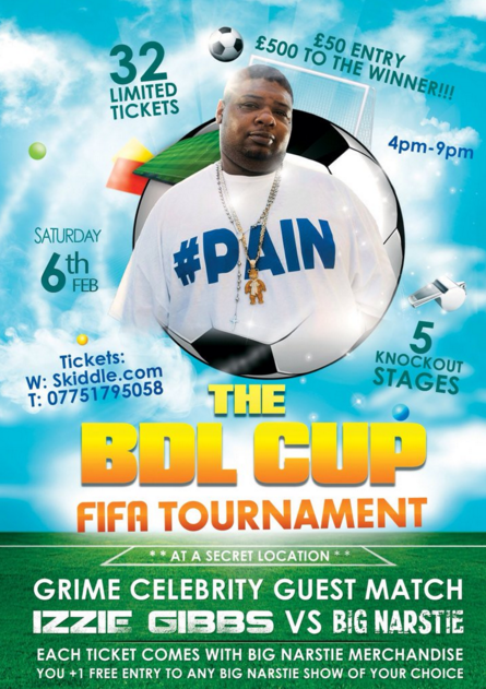 Big Narstie - BDL Cup FIFA Tournament
