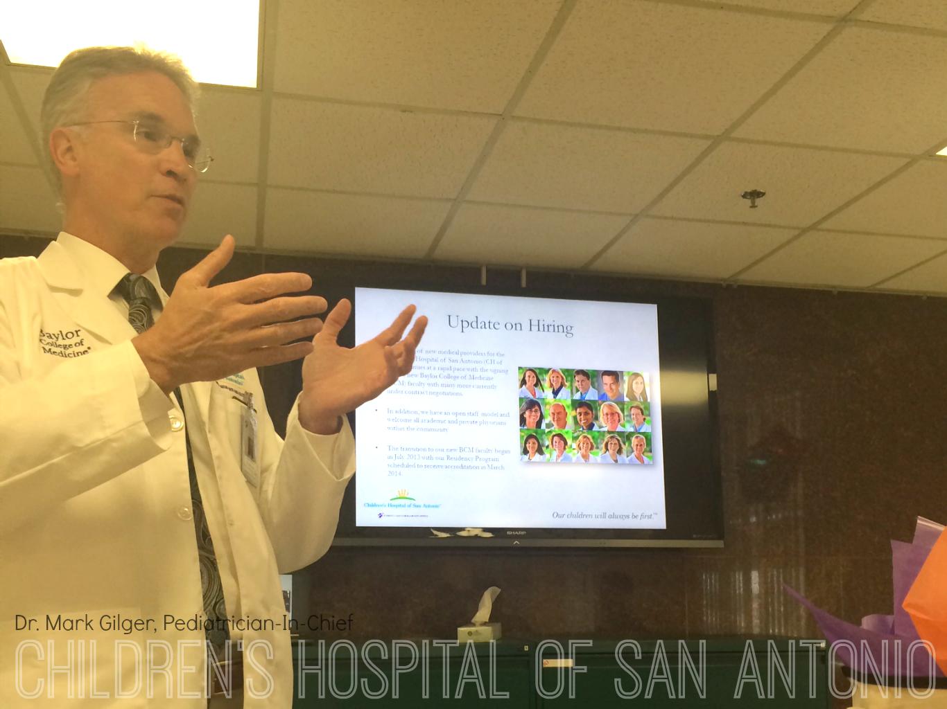 Transformation of the Children's Hospital of San Antonio formerly Santa Rosa Hospital