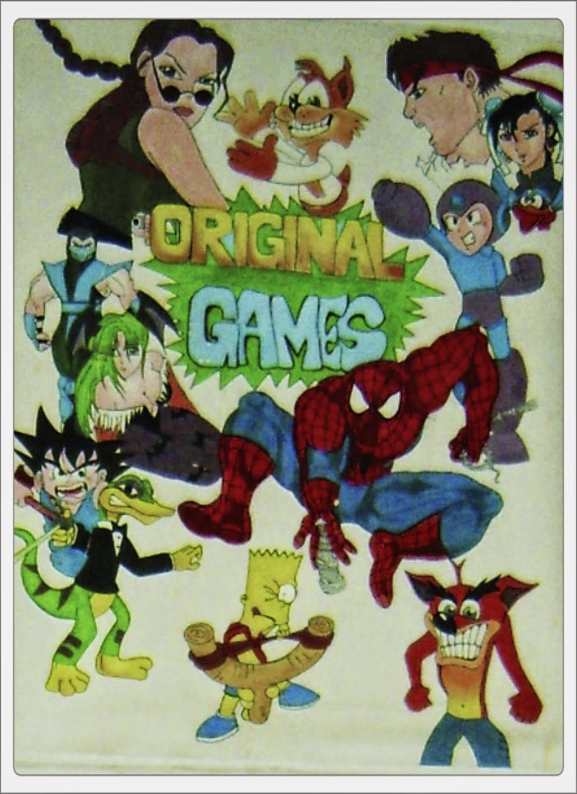 ORIGINAL GAMES #forever