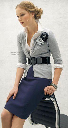 Um elegante substituto do preto -  casaco cinzento